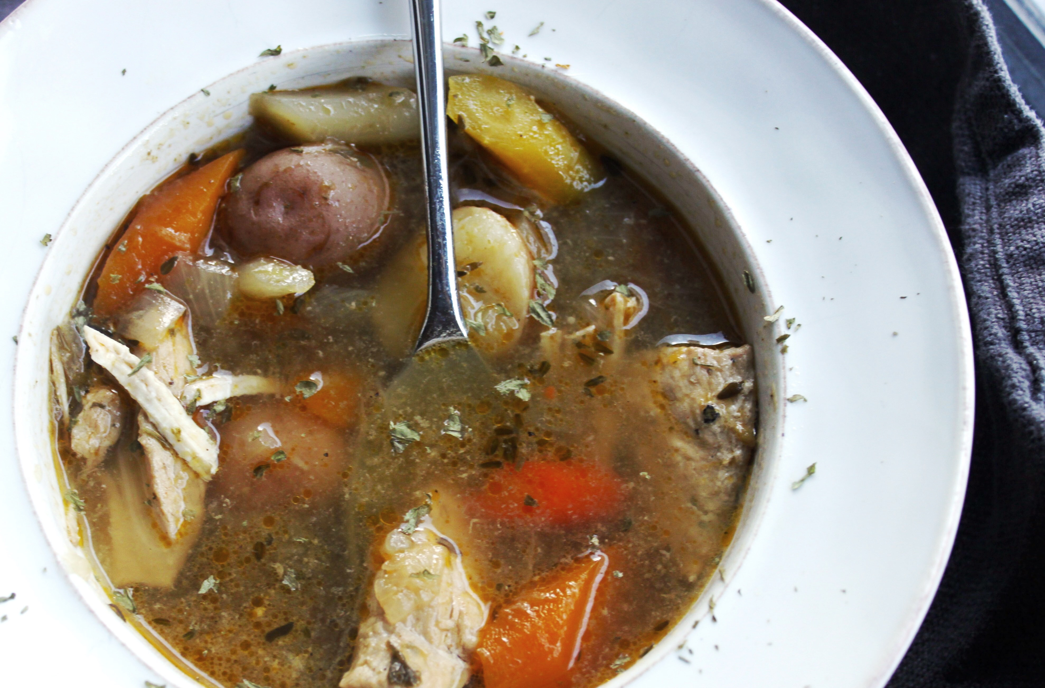 Chicken Vegetable Soup_enhanced